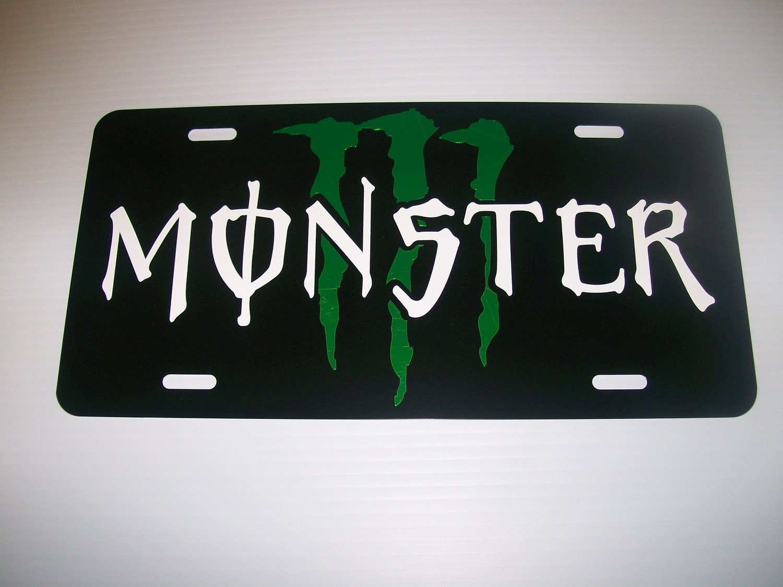 Monster Energy car
