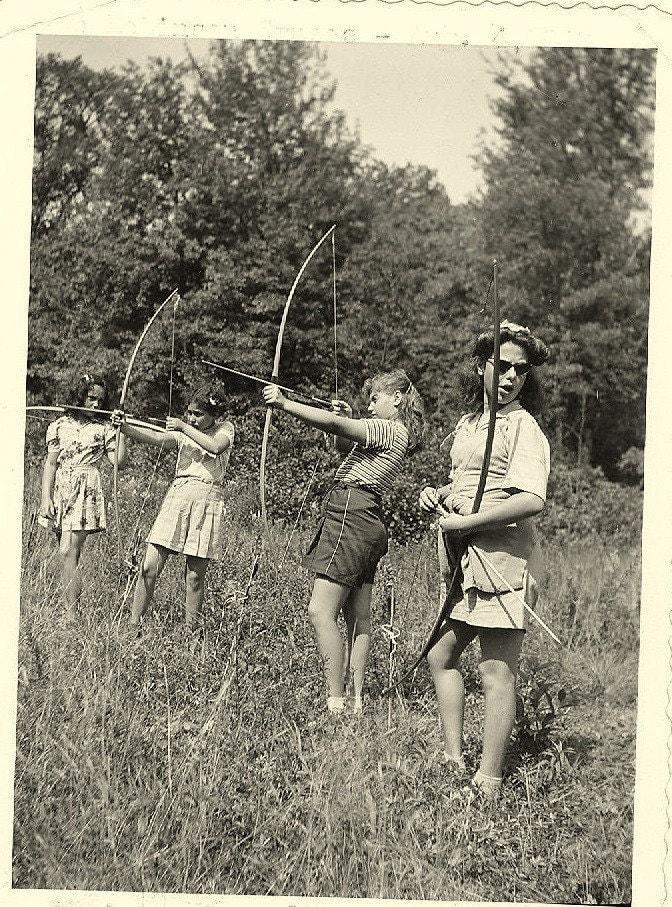 Vintage summer camp girls 3