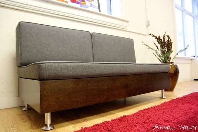 E F Sofa 60 Mid Century Modern Nelson Era Design EBay