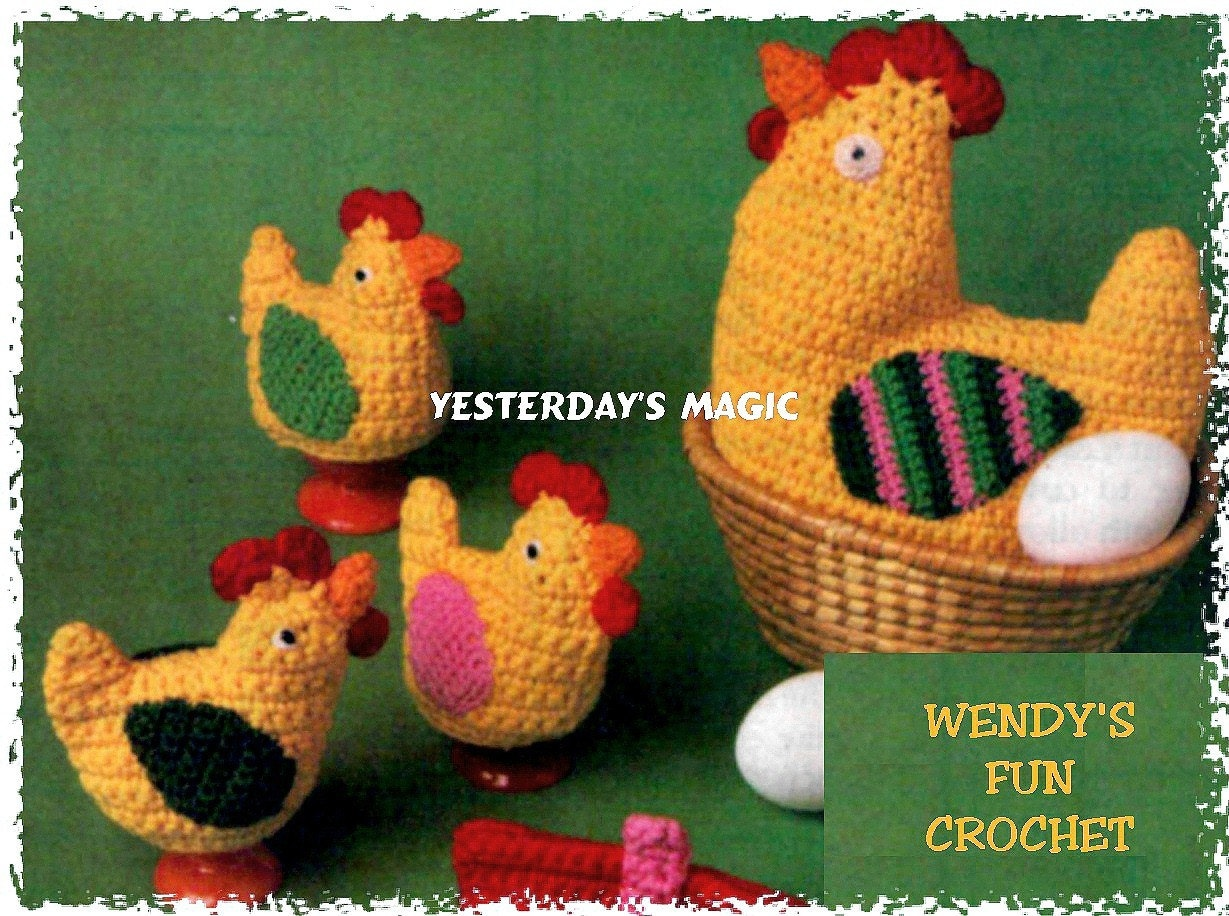 Crochet Memories, Free Filet Cross Easter Egg Cover pattern