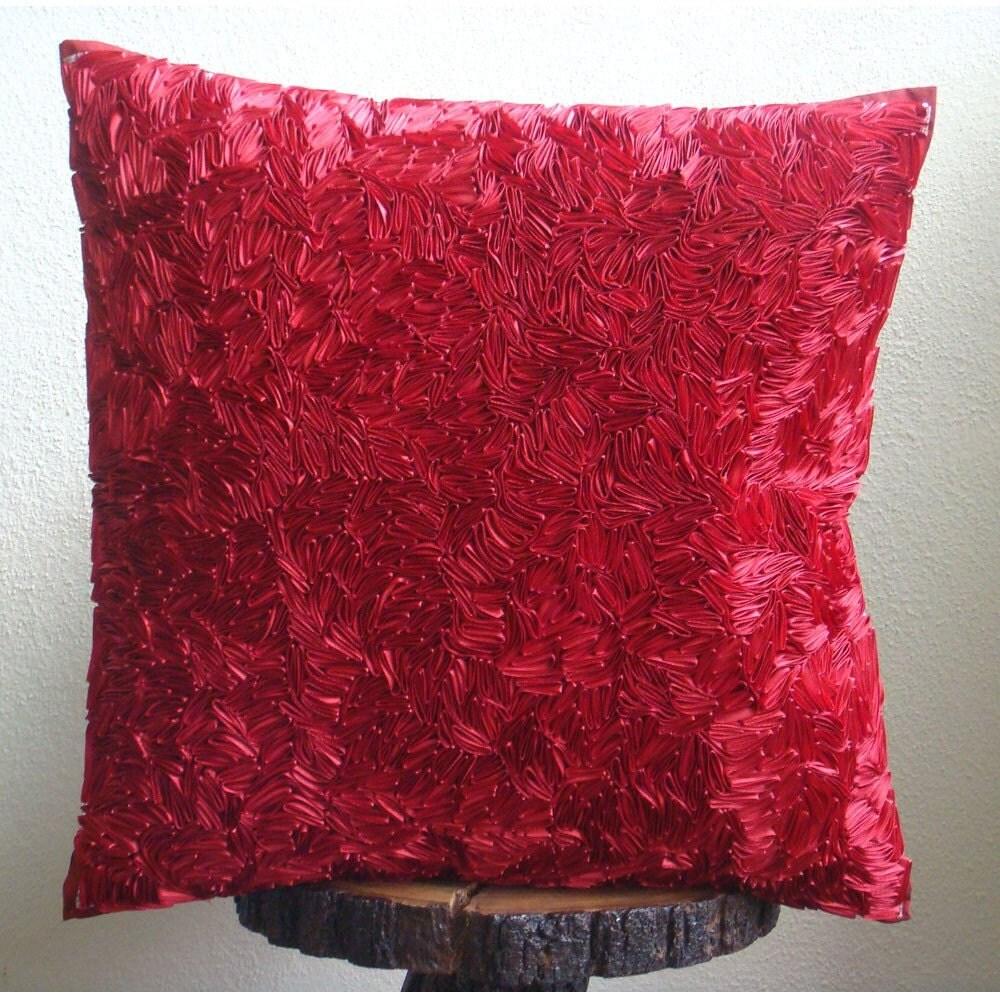 Red Hot Satin Ribbon - 12