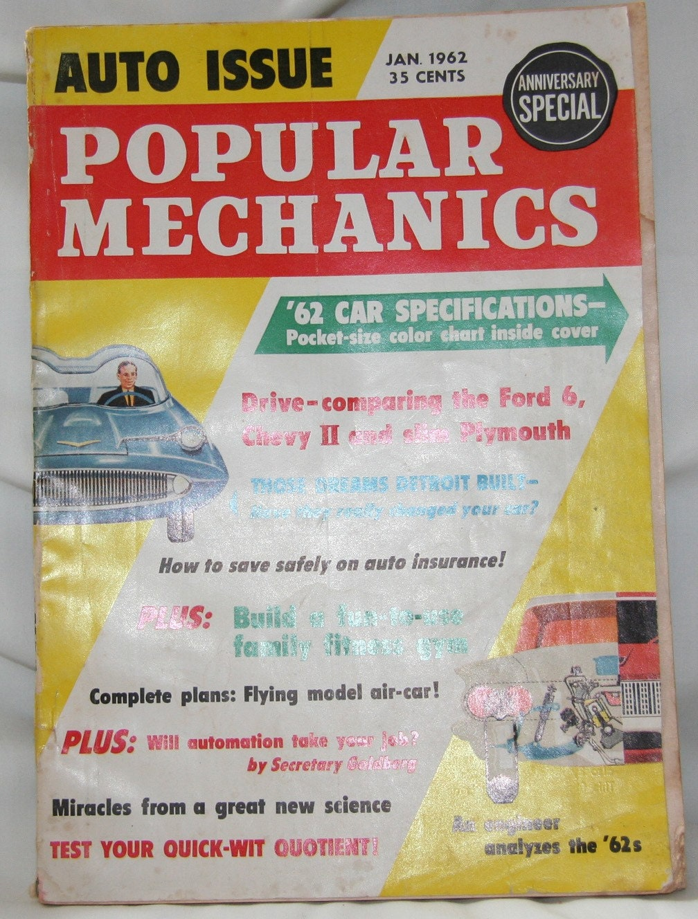 Magazine January 1962,