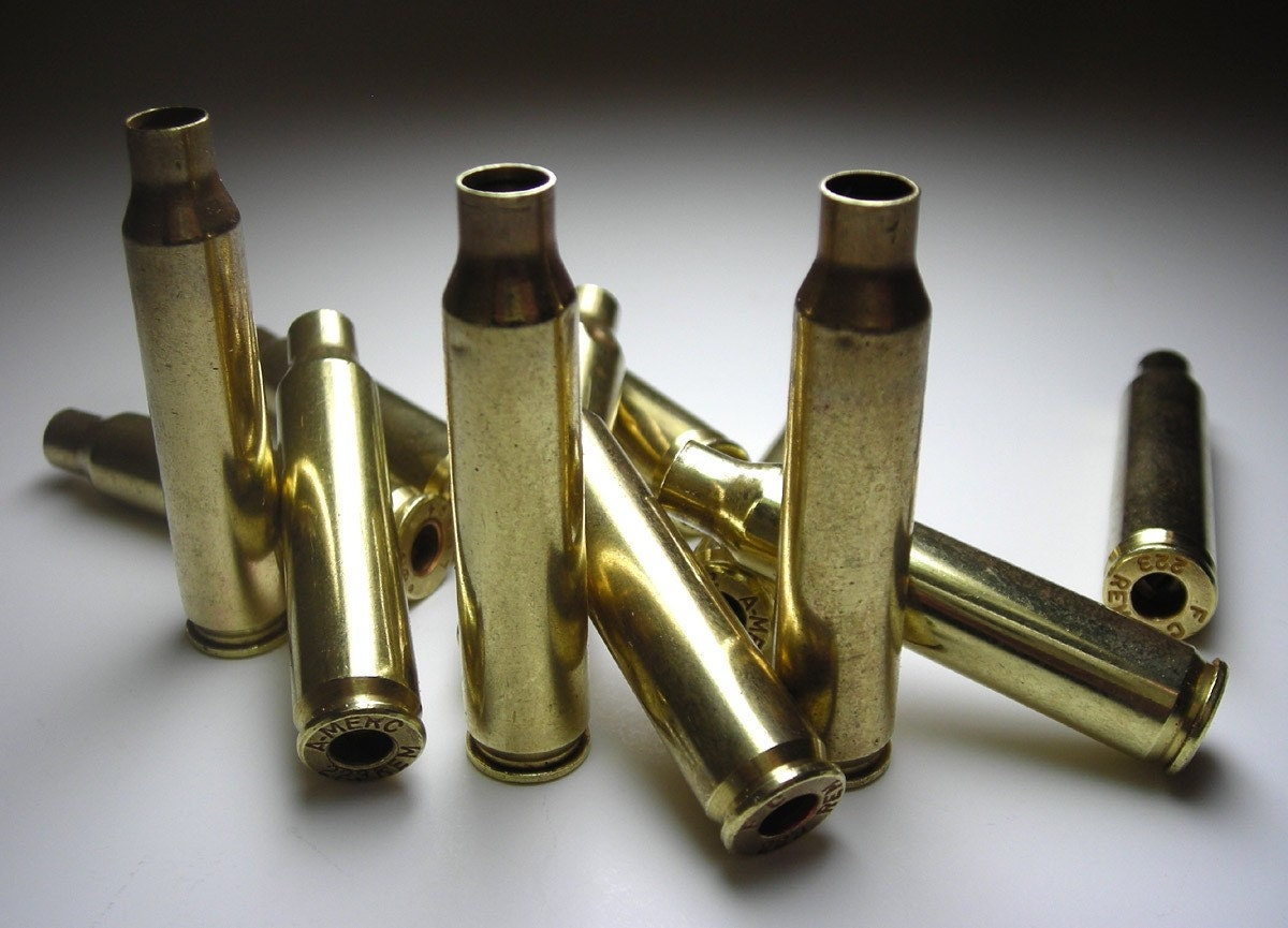 1 dozen brass 223 remington