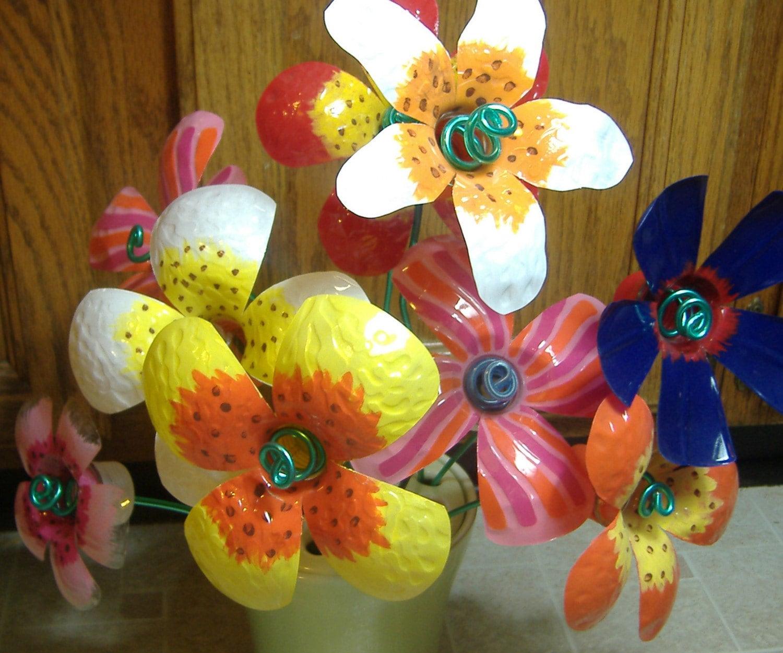 Поделка цветок из подручного материала