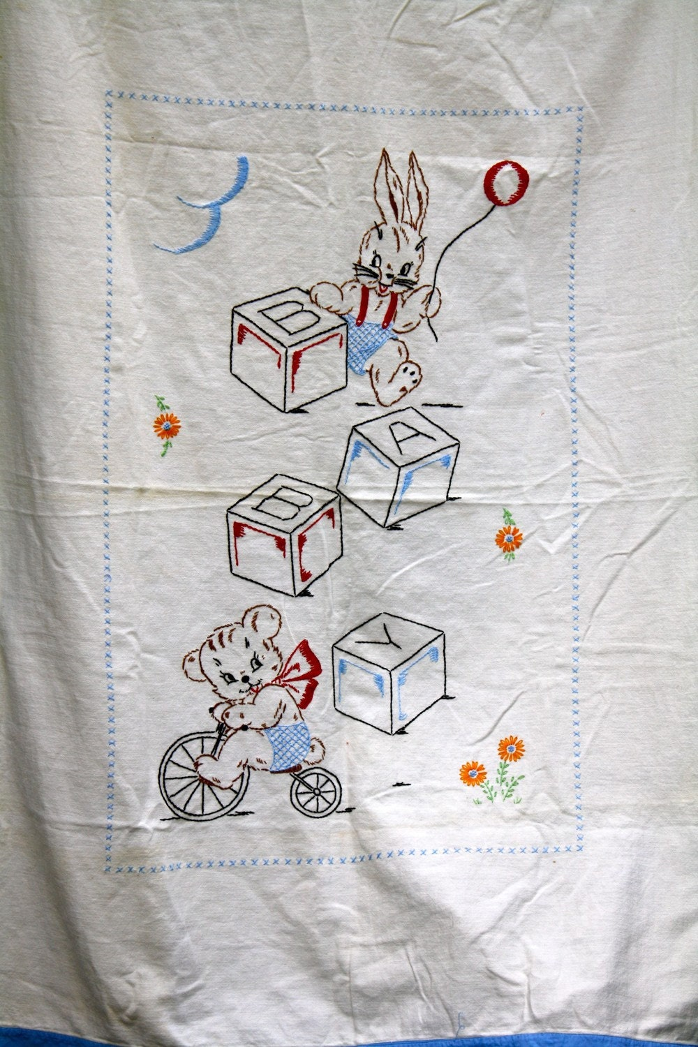 Hand Embroidered Baby Blankets Embroidery Designs