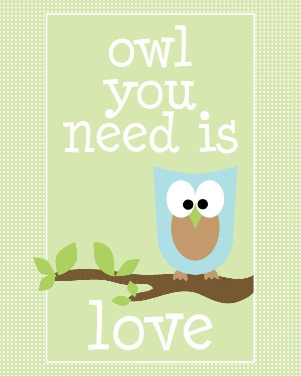 ColorBee | Owl You Need Is Love