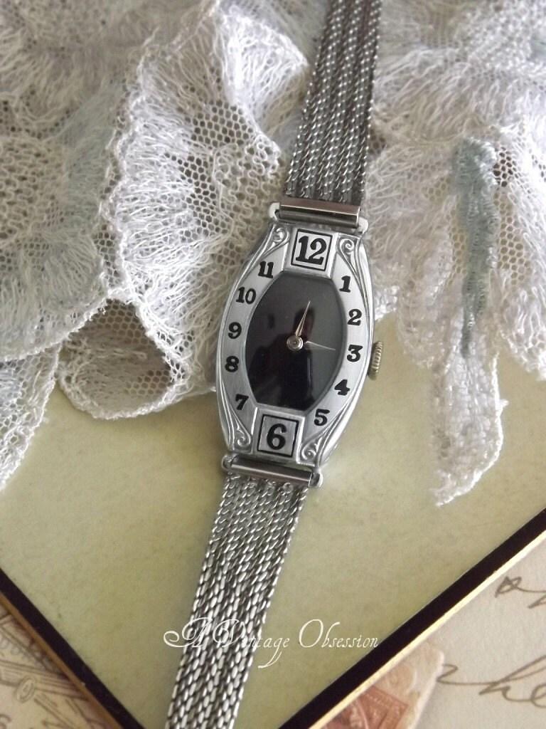 Vintage Waltham Ladies Wrist Watch by avintageobsession on etsy