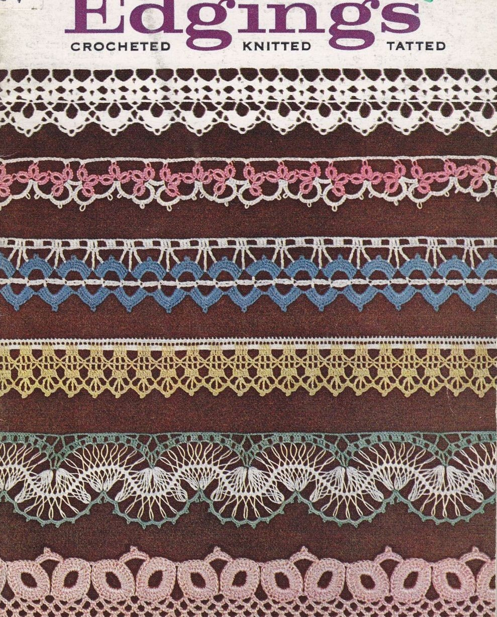 Crocheted Handkerchief Edgings - 194 patterns archived