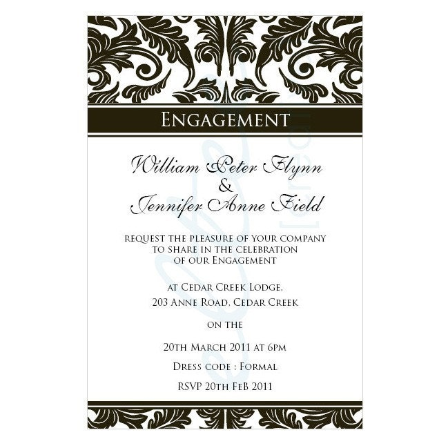 Doc Engagement Party Sample Invitations Search Results for – Sample Engagement Party Invitations