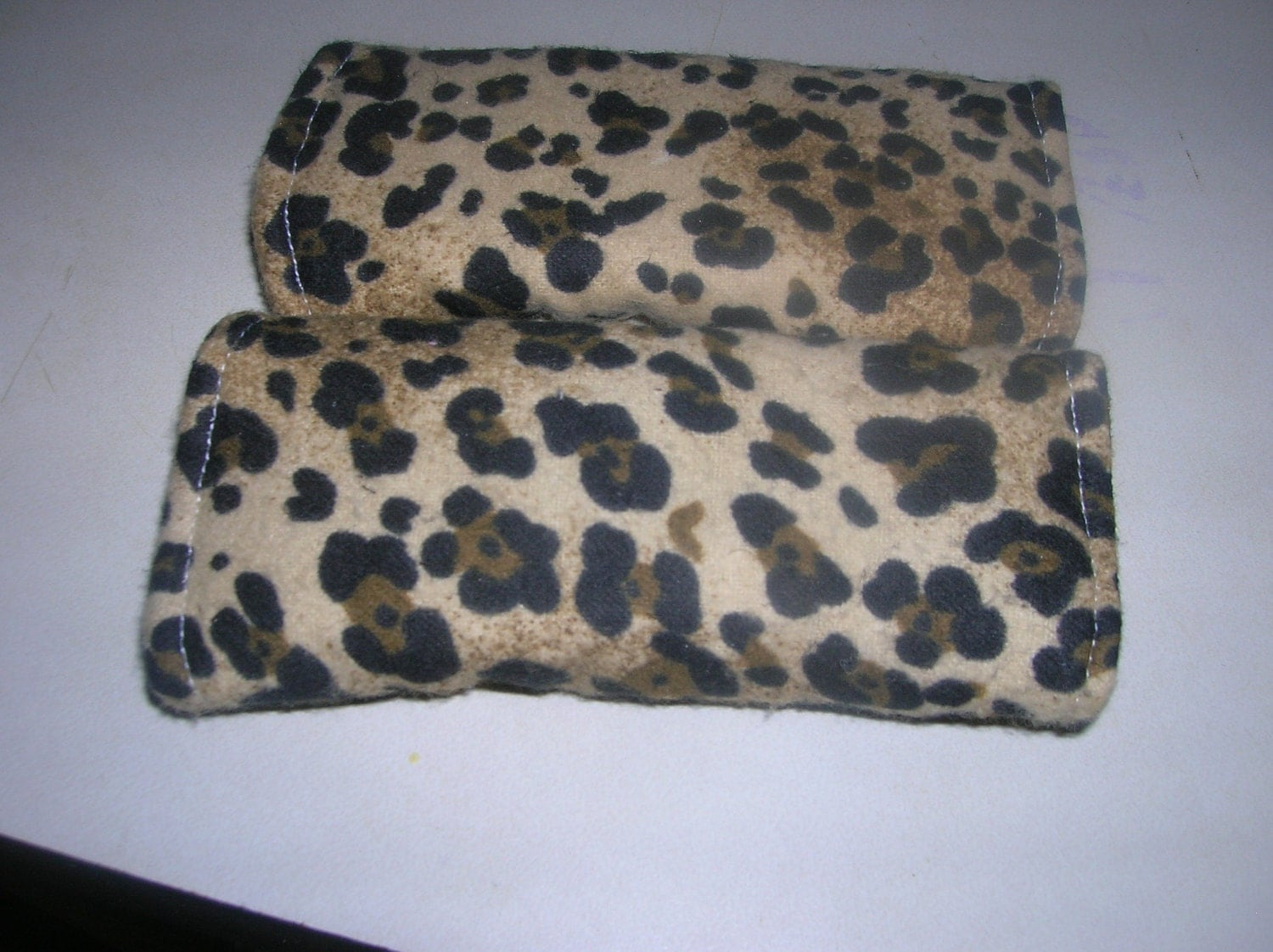 Cheetah Print Car seat strap