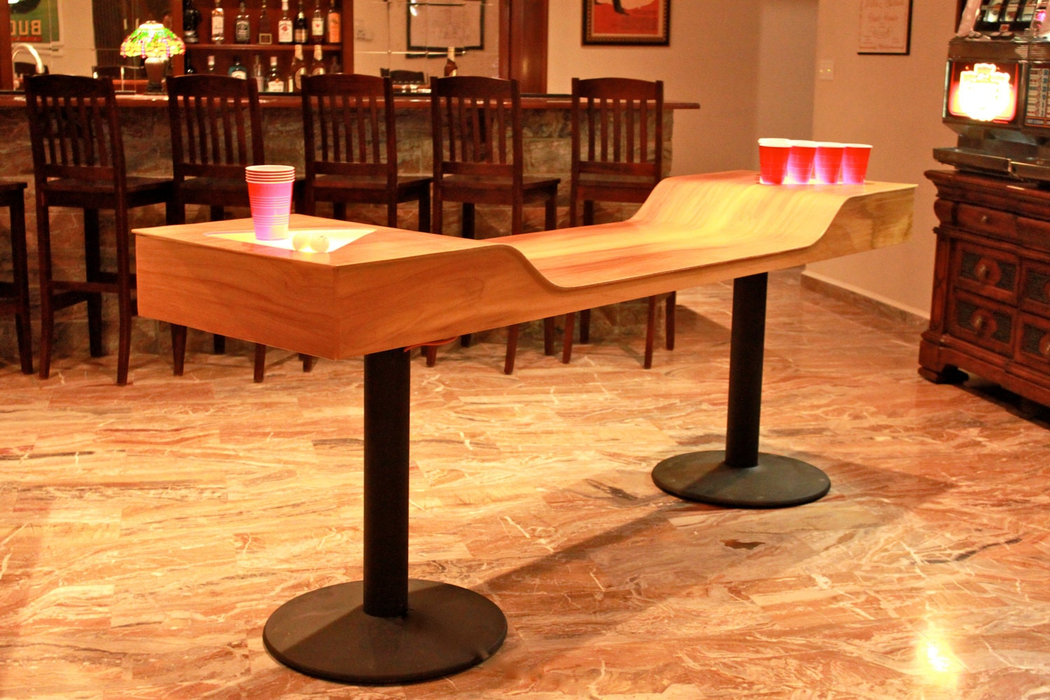 Custom papers for college beer pong tables