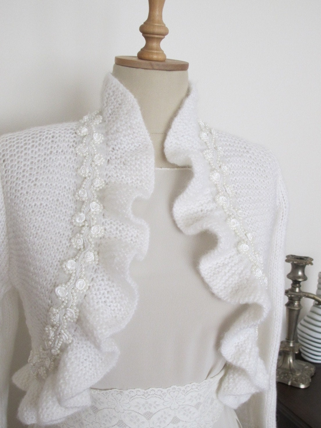 Free Crochet Pattern Bolero Jacket : BOLERO CROCHET JACKET PATTERN Patterns