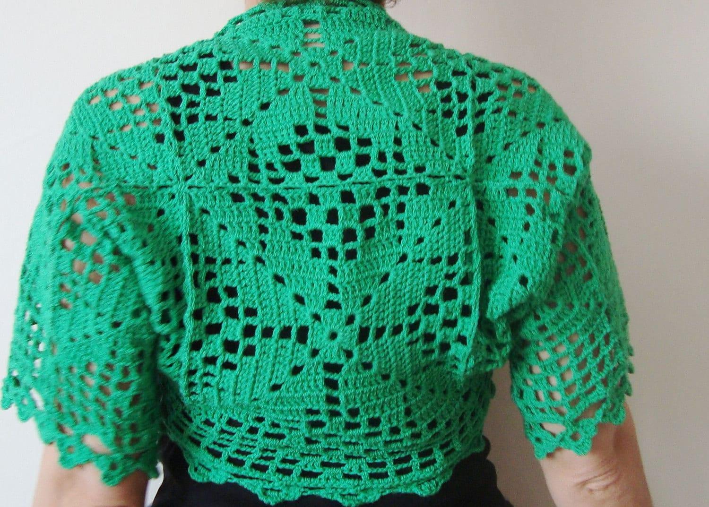 CROCHET LACE BOLERO ? Crochet For Beginners