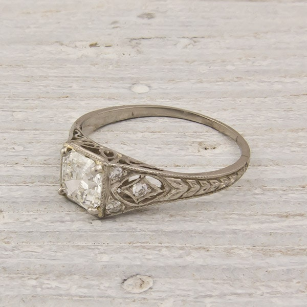 Erstwhile Jewelry on Etsy has some gorgeous vintage wedding rings from the