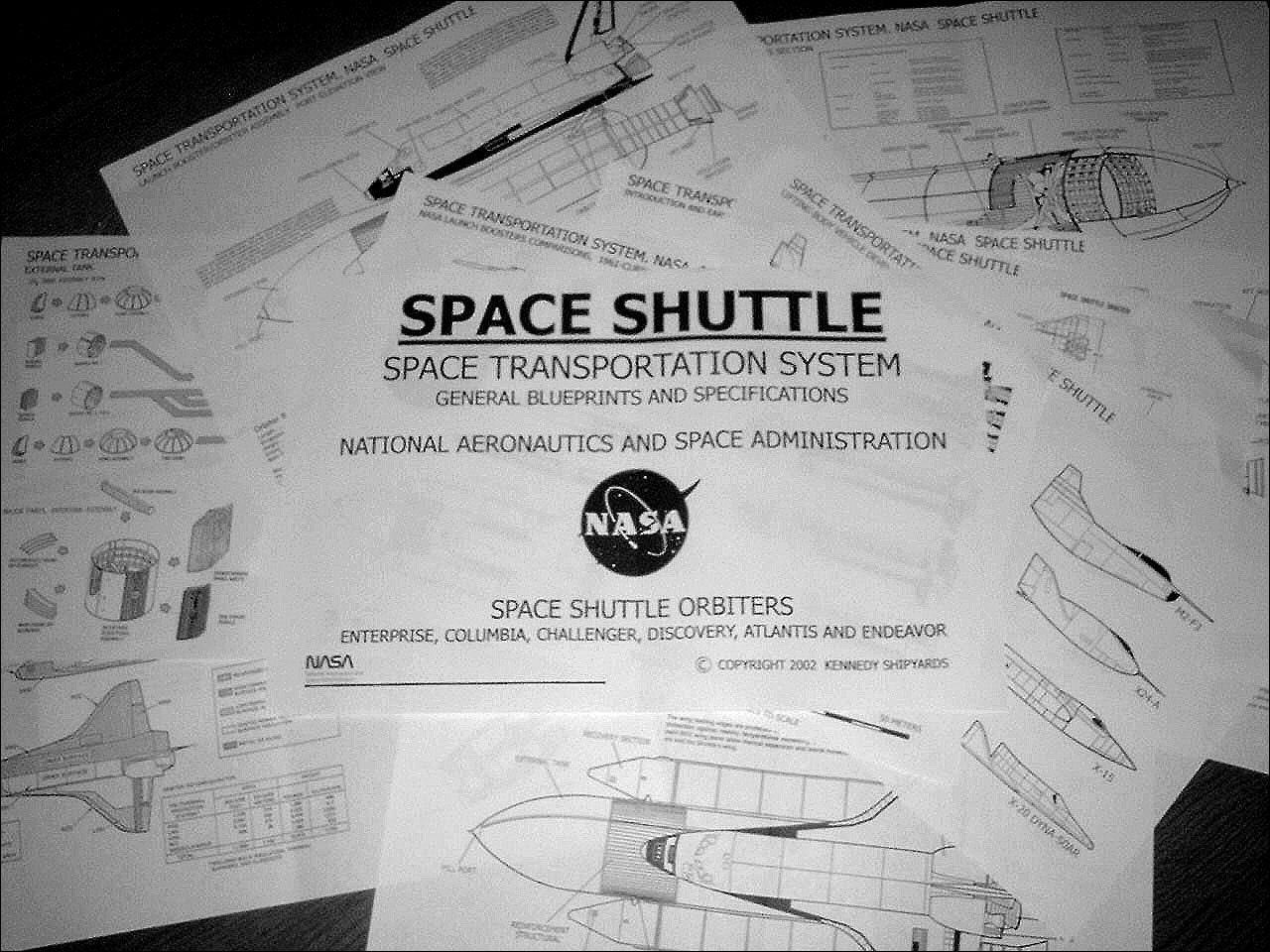 inside space shuttle blueprints - photo #26