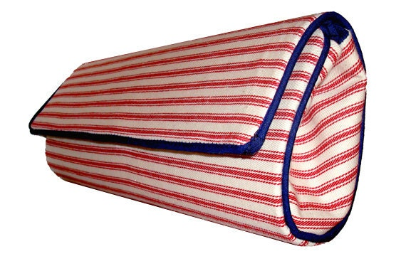 Chic Nautical Clutch by Layla Copeland