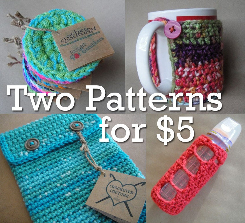Pick 2 Patterns for $5