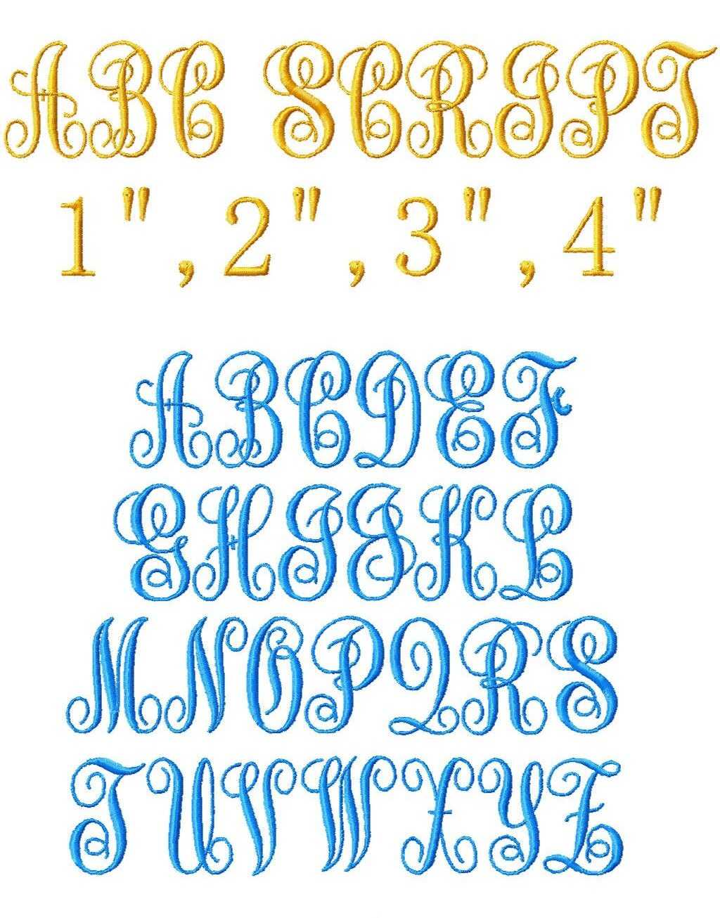 Free Embroidery Fonts Pes - Free Embroidery Patterns