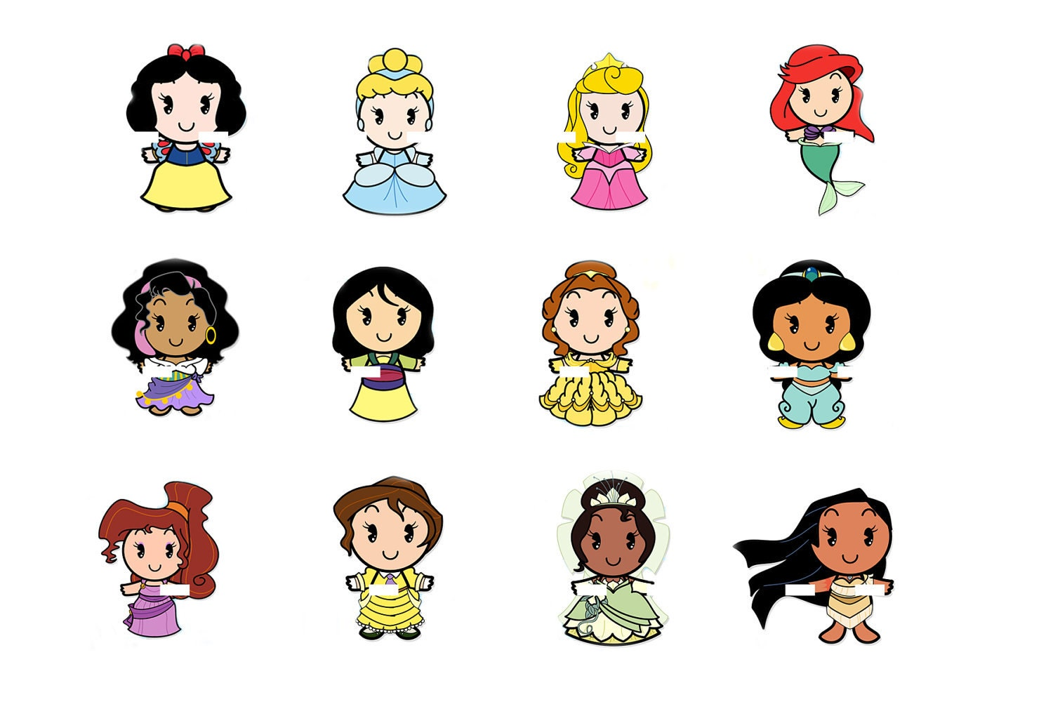 Disney Princess Cuties Scrabble Tile Image Bottlecap Disney Cuties Princess Printable