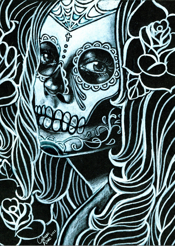 sugar skull lady | Tumblr