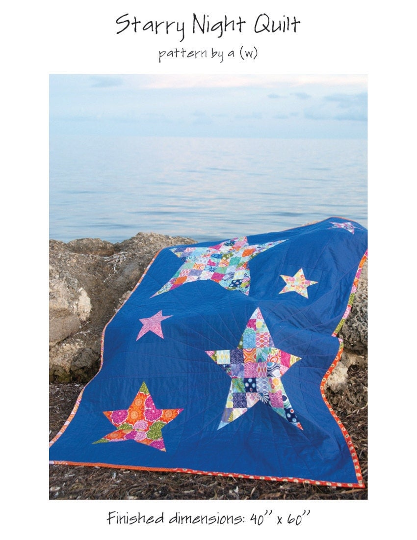 starry night quilt pattern