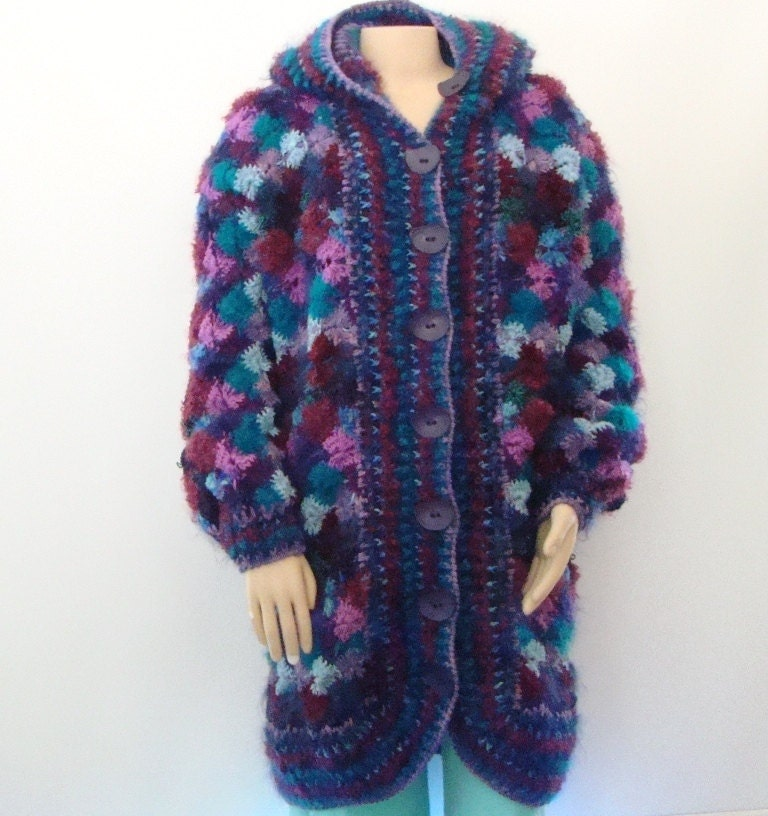 Mostly Mohair Sweater Coat