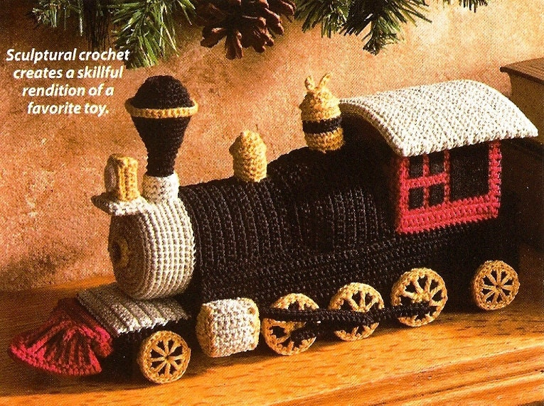 Train Crochet Pattern Easy Crochet Patterns