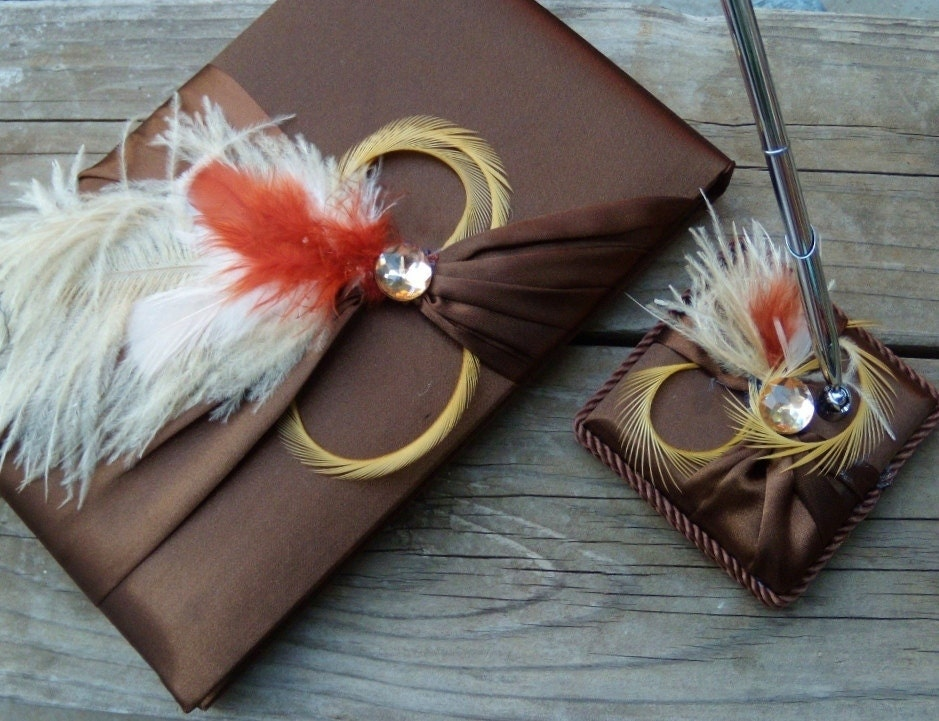 chocolate brown and champagne wedding colors