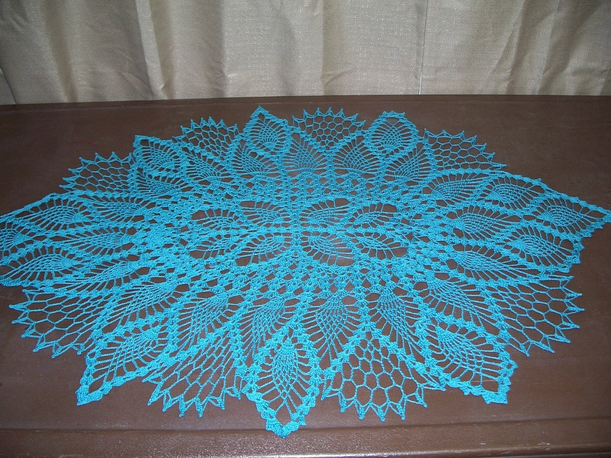 ... about Crochet Oval Pattern on the site: http://www.free-crochet.com