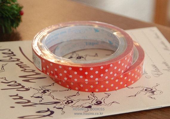 Dots March Tape - 15mm One Single Roll