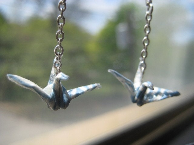 Mini Crane Earrings - $15