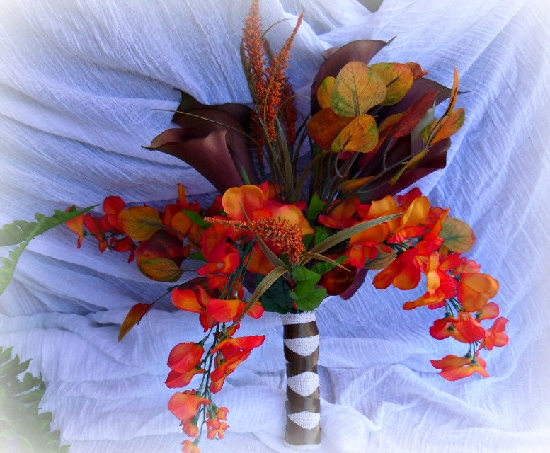 rustic fall wedding bouquets