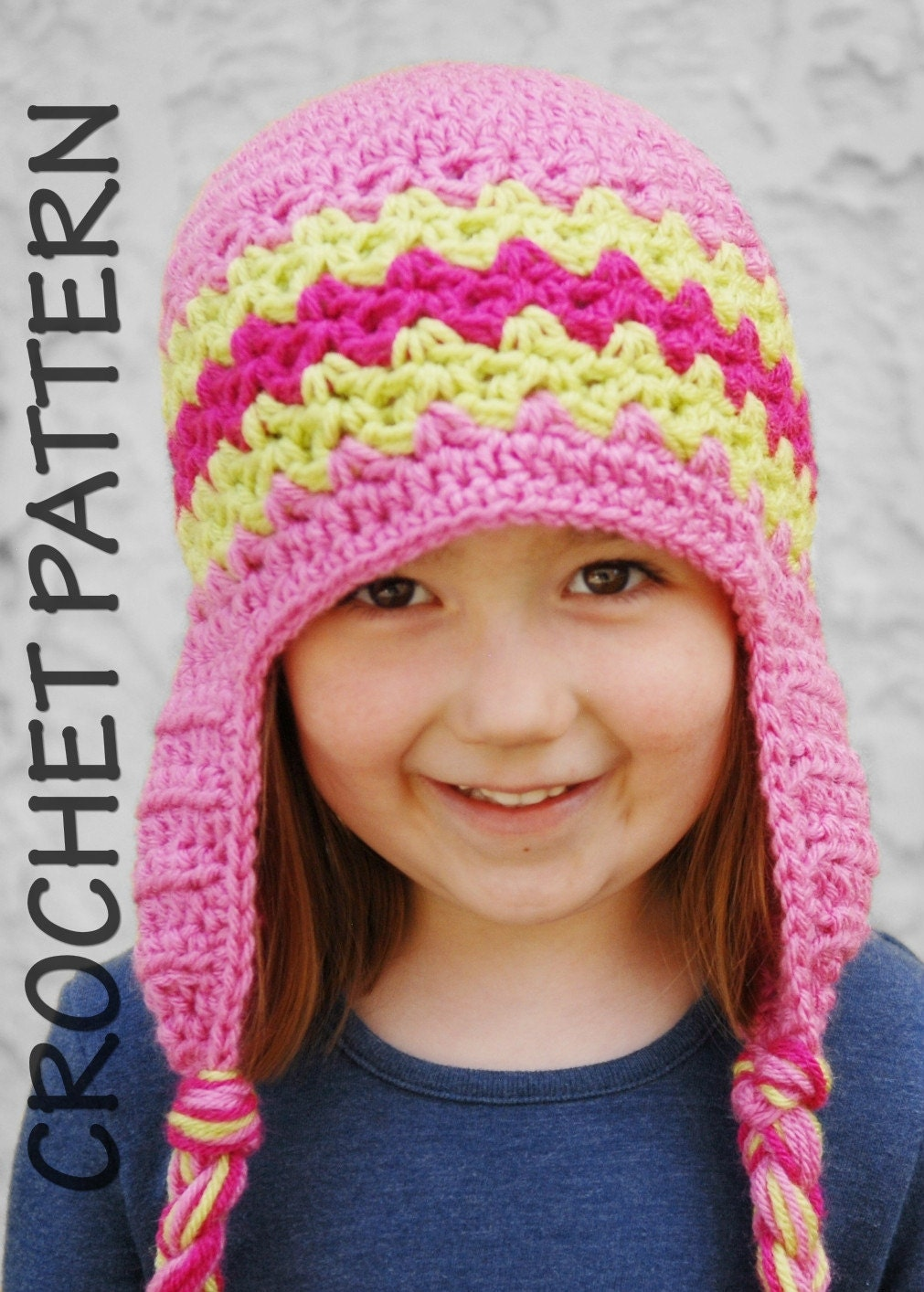 Crochet Beanie Pattern For Child : CROCHET PATTERNS KIDS HATS ? Crochet For Beginners