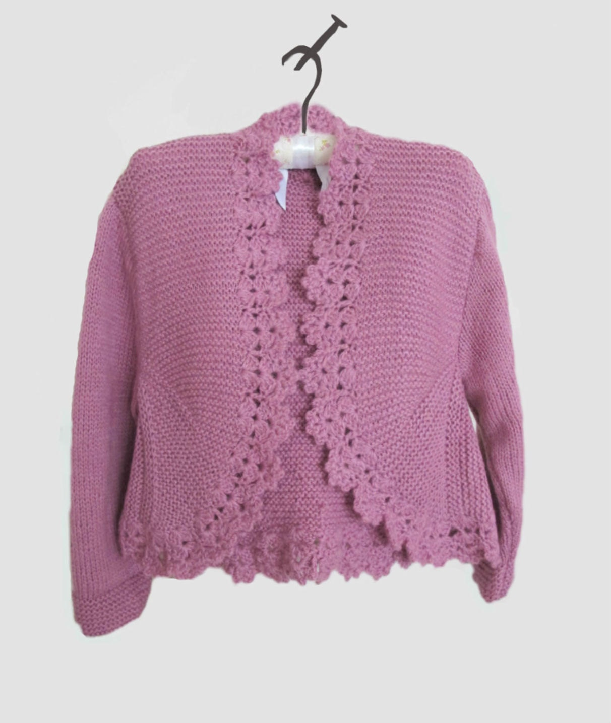 One Piece Sweater Knitting Pattern : CROCHET KNIT SWEATER   Crochet For Beginners