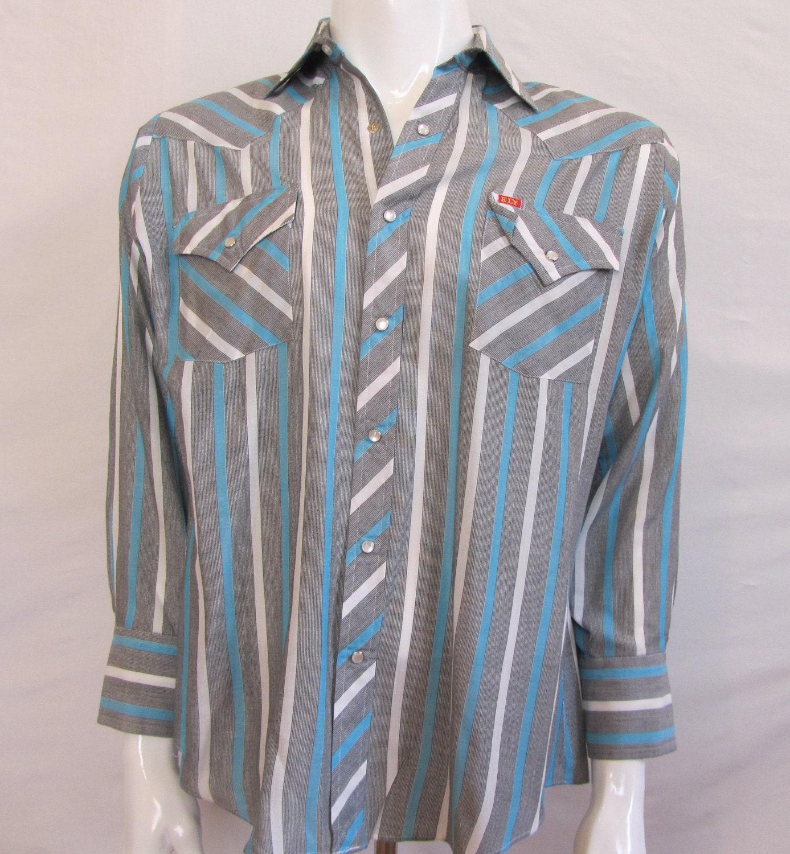 35c2d859 Mens Large vintage Ely Plains western shirt from Vintrowear
