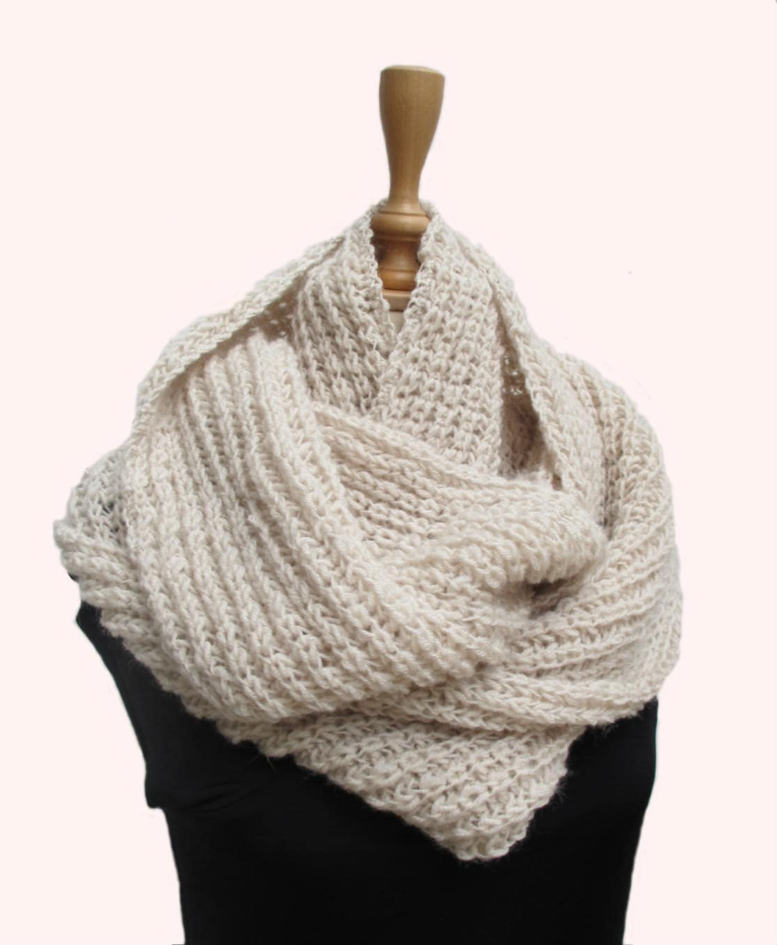 Homemade knitted infinity scarves crazy homemade crocheterfly hand knitted infinity scarf knitting scarves bankloansurffo Choice Image