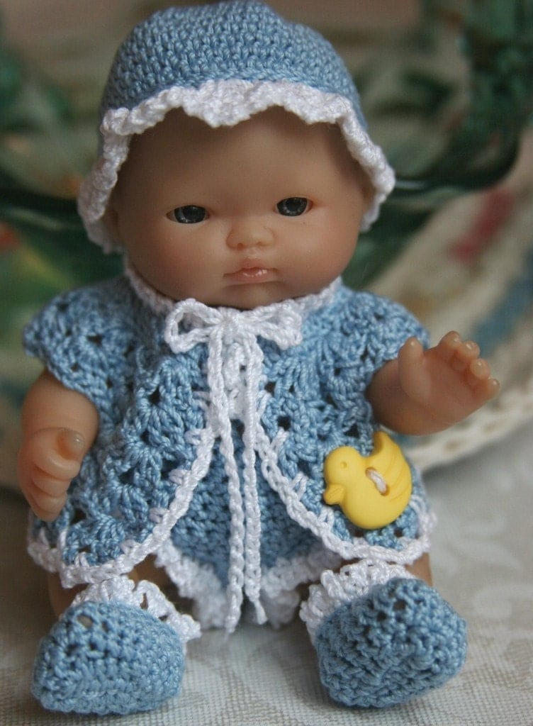 Crochet Patterns Doll Clothes : crochet baby doll clothes patterns free 12 baby doll clothes patterns ...