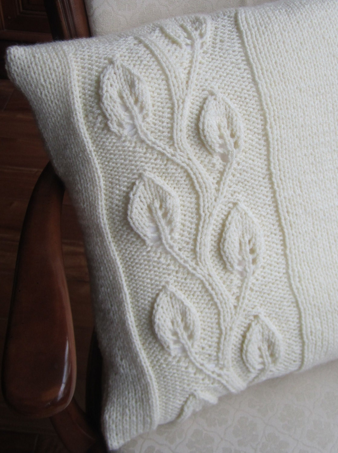 Knit Pillow Covers I Wallpaper