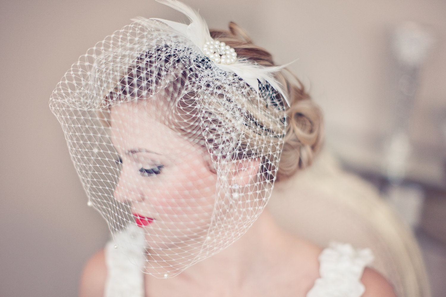 Wedding Wednesday Birdcage Veils Ruche Blog