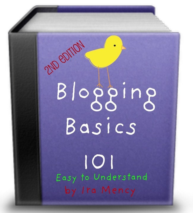 how to blog book