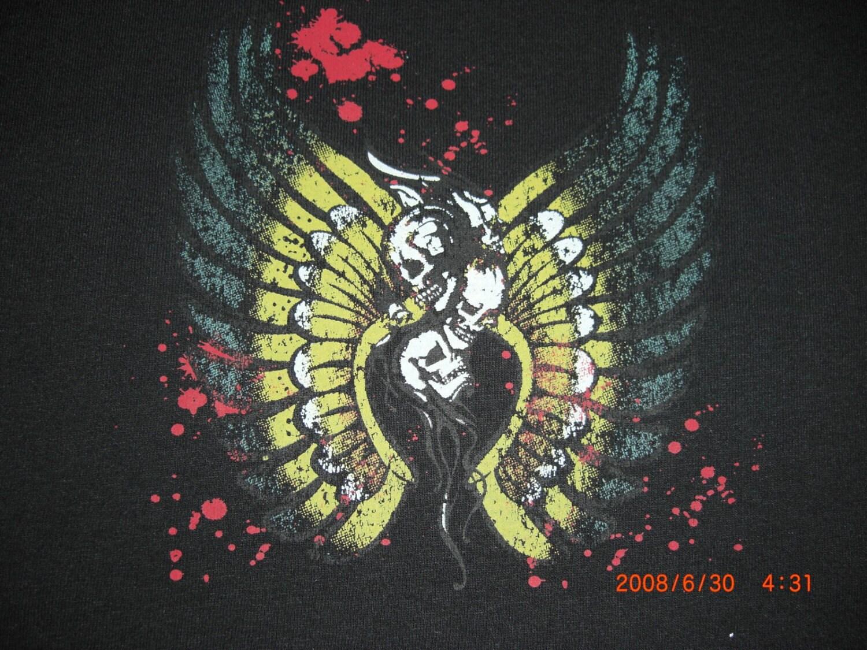 Black Tshirt with Tattoo
