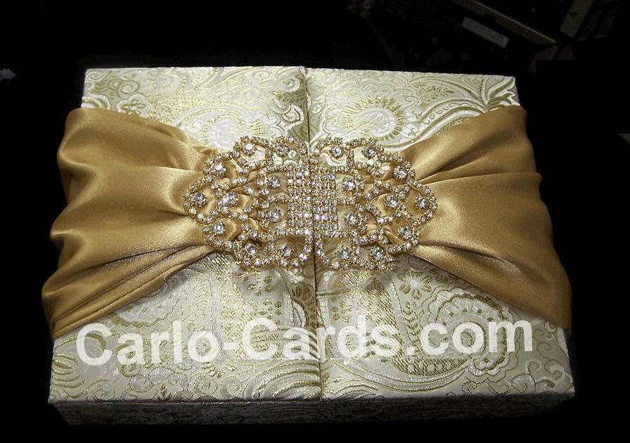 Starla S Blog Dupioni Silk Wedding Invitation Folder Silk