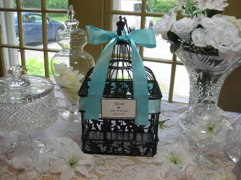 Eppers blog I would have loved to have this gorgeous Bird Cage – Birdcage Wedding Card Box