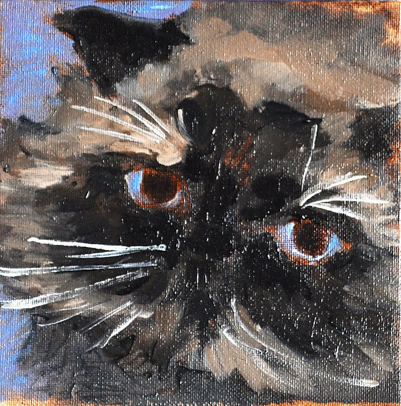 Himalayan Cat Painting