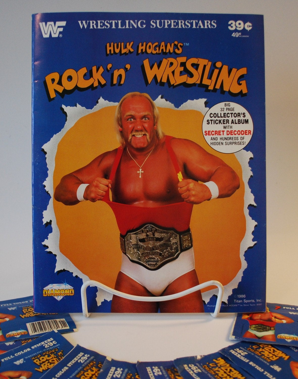 SATURDAY MORNINGS FOREVER HULK HOGANS ROCK N WRESTLING – Hulk Hogan Birthday Card