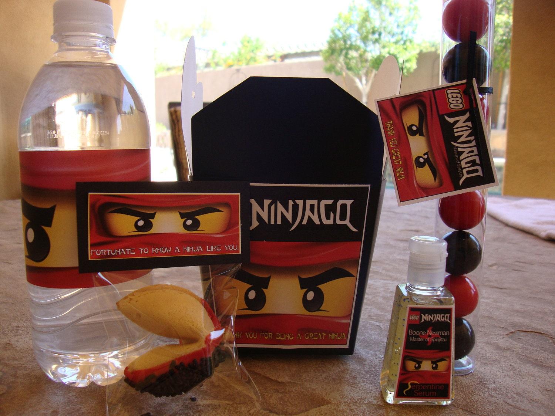 ninjago birthday party supplies