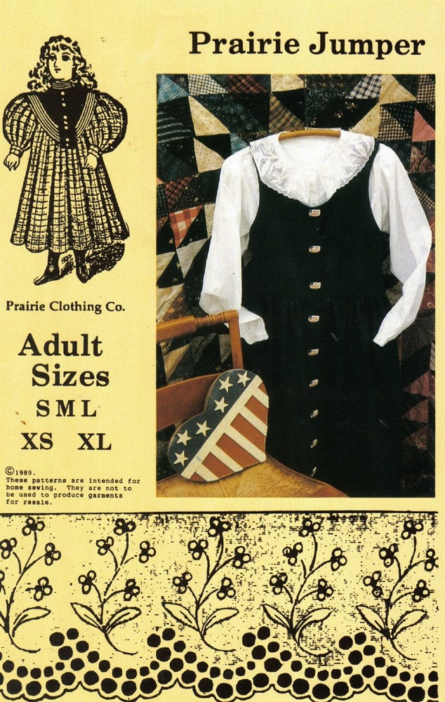 Romantic History Historical Clothing: Little House on the Prairie