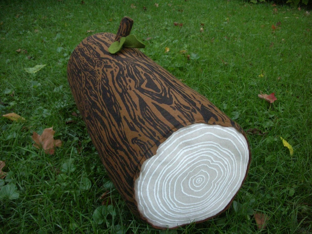Log Pillow Roundup At Etsy Apartment Therapy