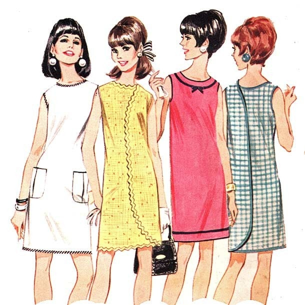 Wonderful Fifty Years Ago, British Designer Mary Quant Introduced The Miniskirt And Women Began Hiking Up Their Hemlines And With Shorter Skirts Came Pantyhose And Patterned Tights, Replacing Girdles And Garter Belts Photos Of Women In Mini