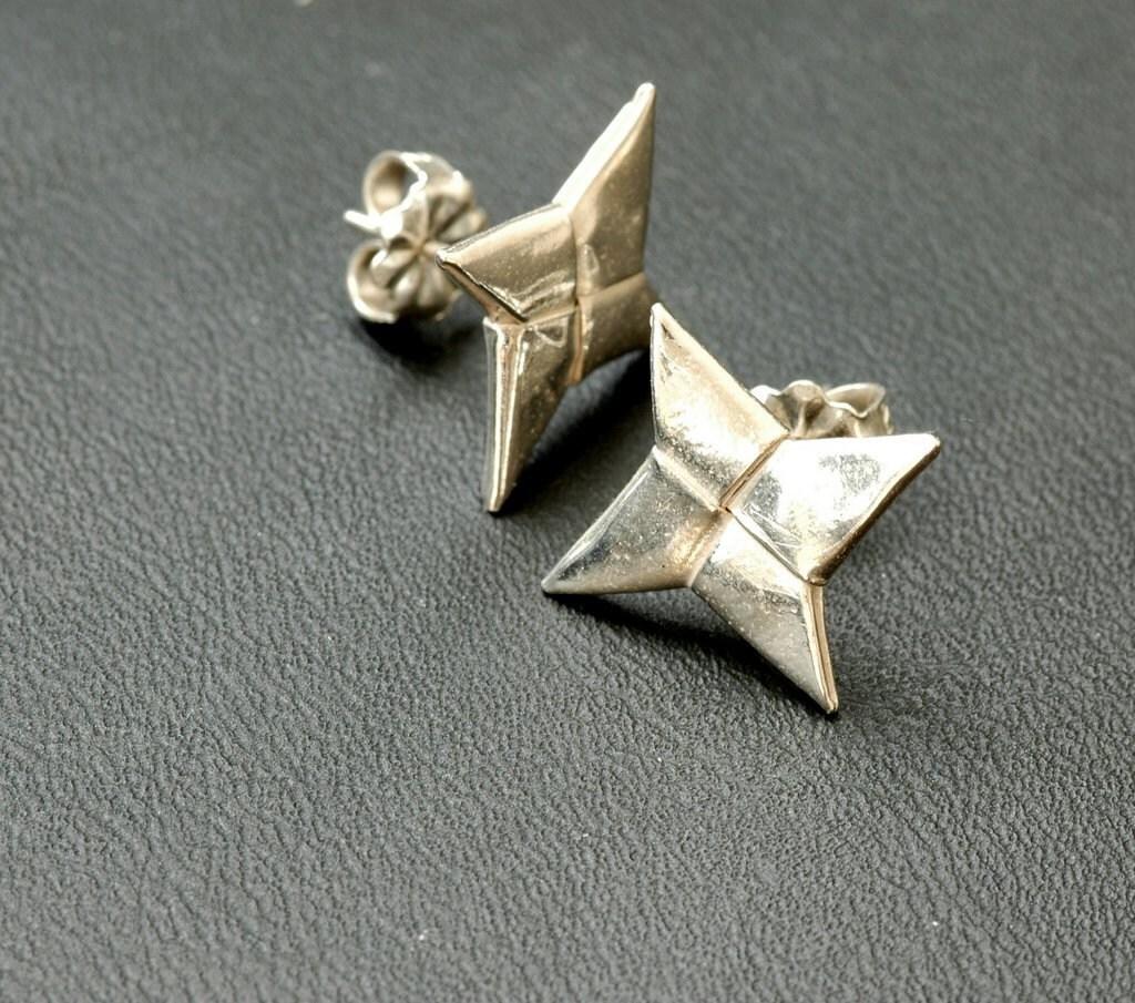 NINJA STARS ORIGAMI « EMBROIDERY & ORIGAMI - photo#19